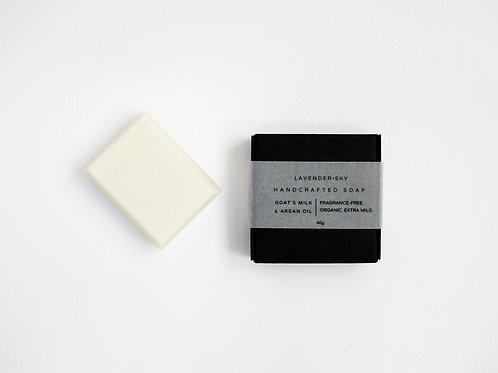 Soap for Sensitive Skin - Argan Oil & Goat´s Milk