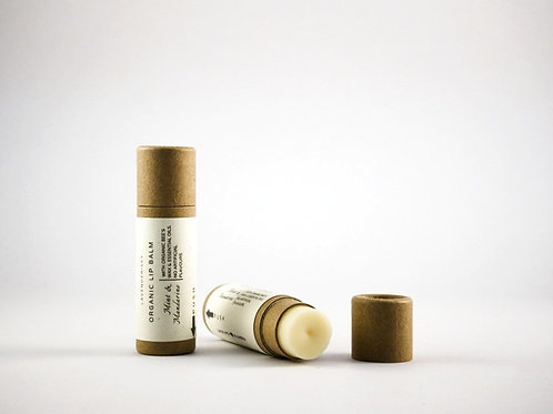 Natural Lip Balm - Organic Bee´s Wax and Peppermint