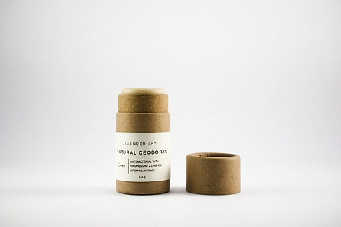 Natural Deodorant - Lime