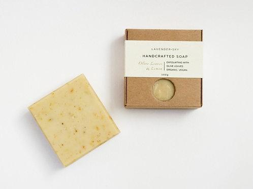 Natural Soap - Olive Leaves & Lemon