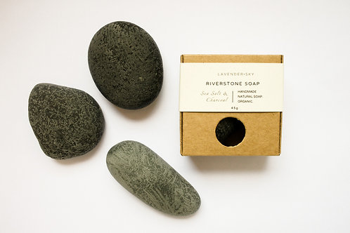 Riverstone Soap - Activated Charcoal & Sea Salt