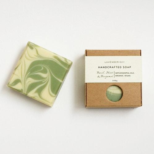 Natural Soap - Basil, Mint and Bergamot