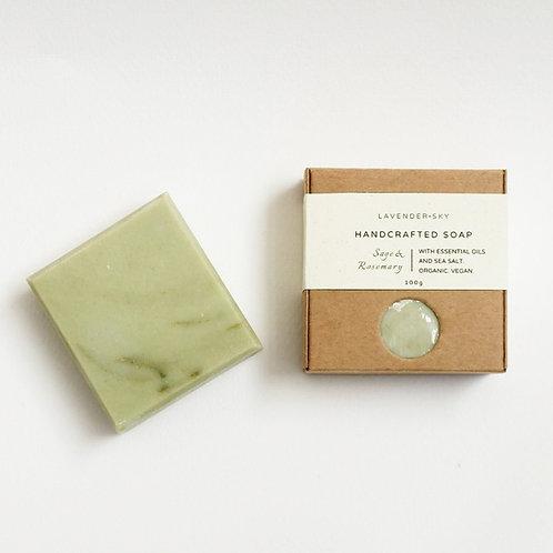 Natural Soap - Rosemary & Sage