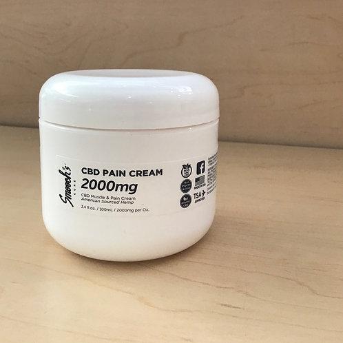 2,000mg CBD PAIN CREAM