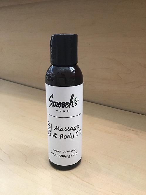 4oz 500mg Massage body oil