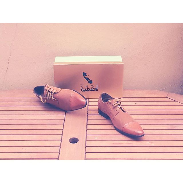 Brown Suede nd Leather shoe #TheshoeGarage