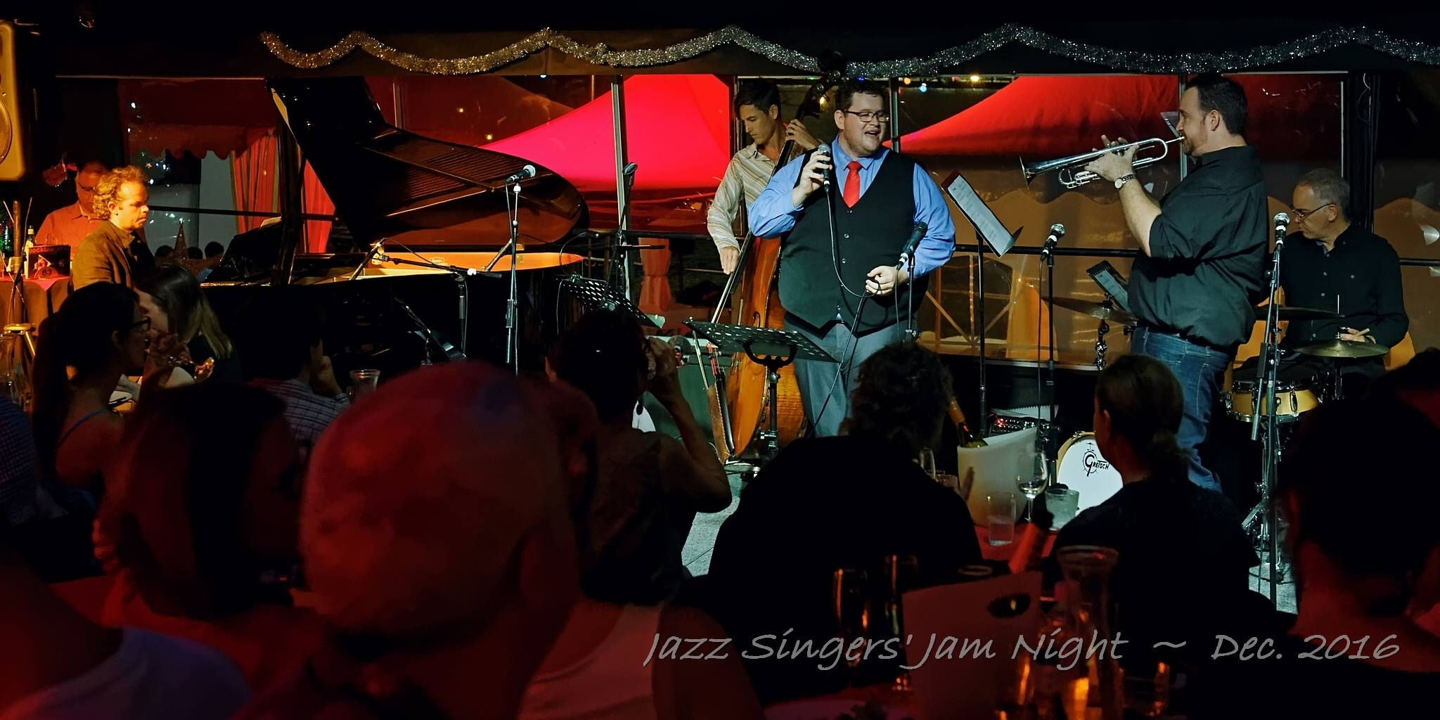 Jazz Singers Jam Night Dec 2016
