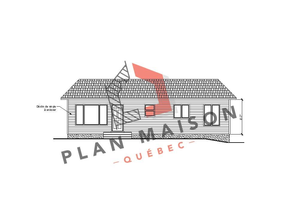 modele maison etage