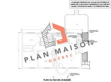 plan de maison etage