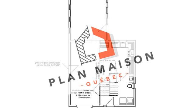 plan-petite-maison-etage