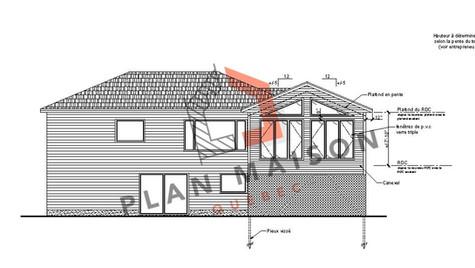 Agrandissement maison architecte