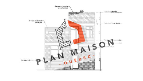 Plan petite maison étage