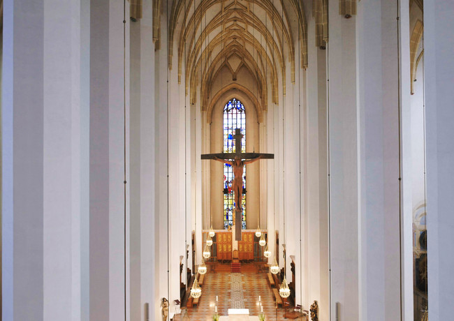 Innenaufnahme Frauenkirche