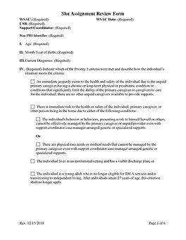 Pages from Slot Assignment Review Form-R