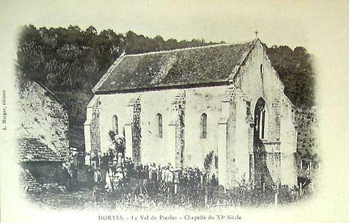 cpa_presles_chapelle_XI_siècle_.jpg