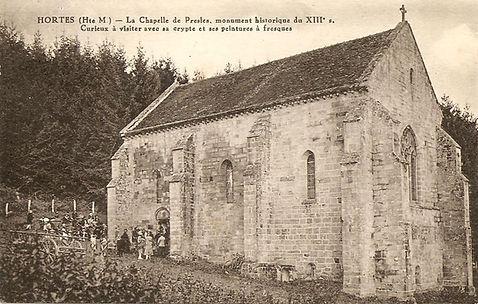 cpa chapelle Presles hortes 2017.jpg