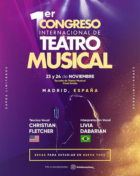 CITMM Congreso Internaciona de Teatro Musical - Madrid