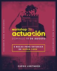 Workshop Actuación - Uruguay