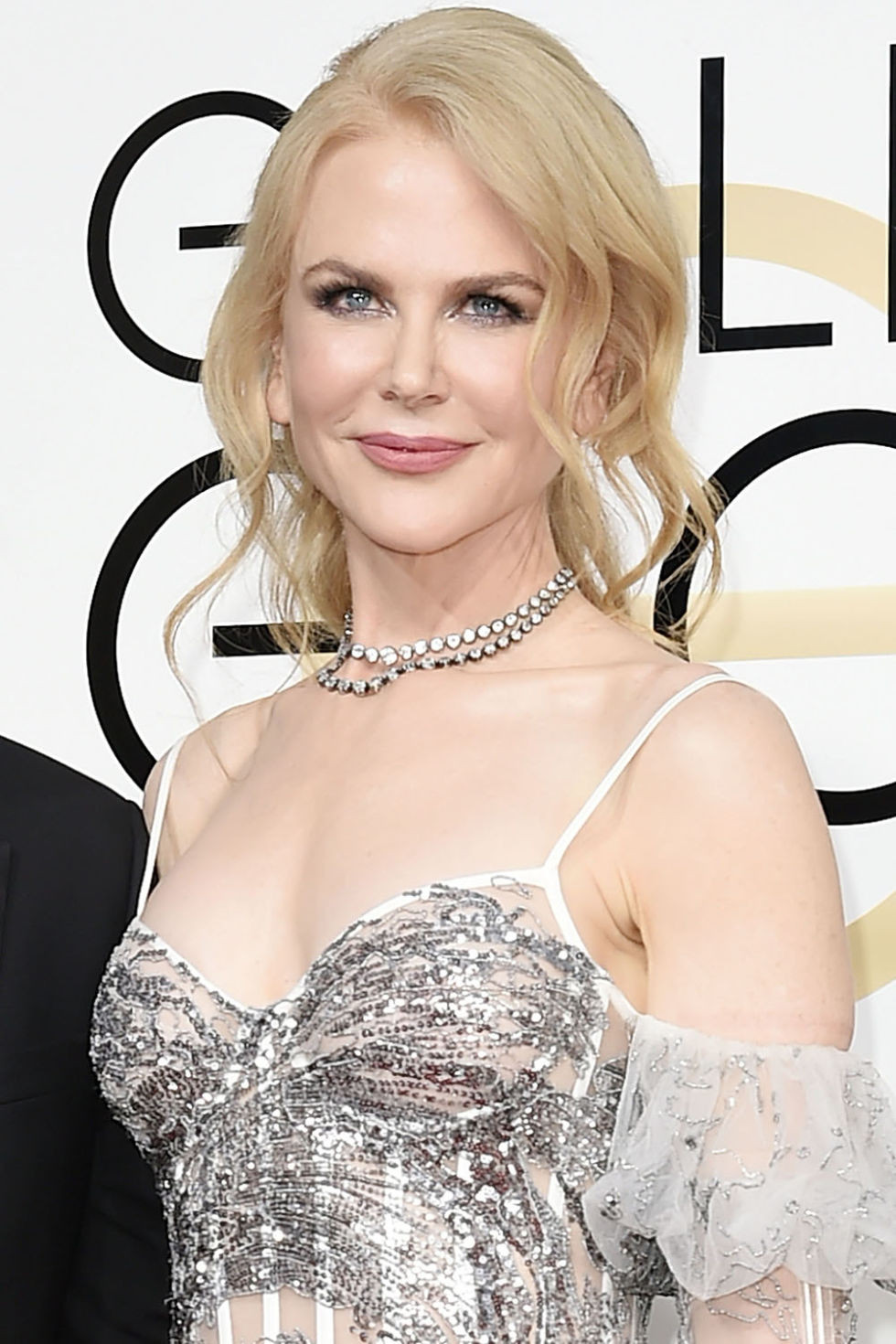Nicole Kidman & double row riviera necklace