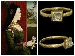 Mary of Burgundy - Diamond Engagement Ring