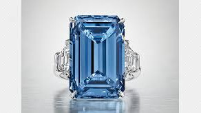 "The ""Oppenheimer Blue Diamond"" -  Sold at Auction for £40 million."