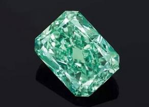 "The ""Aurora Green Diamond""                            World's biggest natural green diamond"