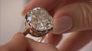 Old cushion-cut diamond 26.27ct.