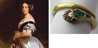 Queen Victoria - Snake Engagement Ring.