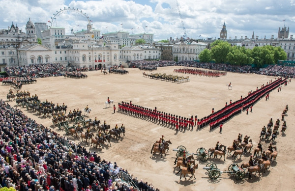Trooping the Colour Parade 2017