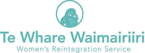 Te Whare Waimairiiri Logo - Teal with Te