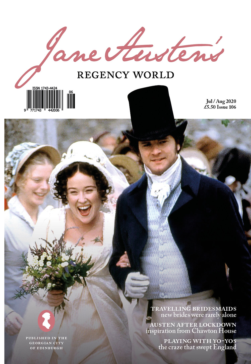 Jane Austen's Regency World magazine July/August 2020 cover