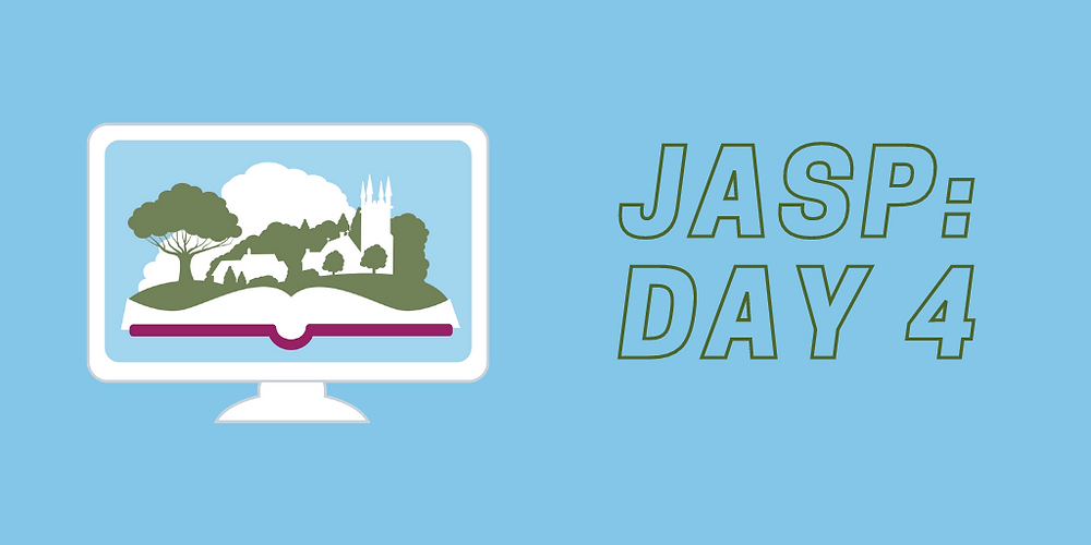 JASP Day 4 recap: penmanship workshop, a talk on the 'business of Mothering,' a panel on Austen's legacy in media, 'Regency Celebrities,' a farewell and a sneak peek at our 2022 program.