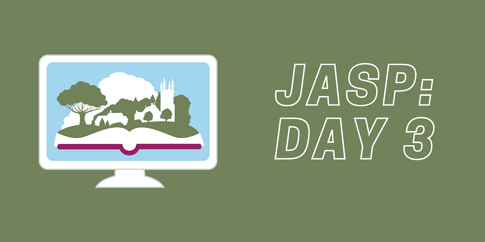 JASP Day 3 recap: talks on the politics of Austen's day and handwriting, a penmanship workshop, our first-ever Bake-Off and a murder mystery game.
