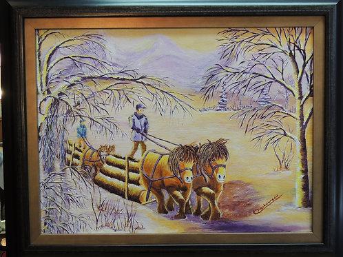 Voyage de bois / Woodcutting