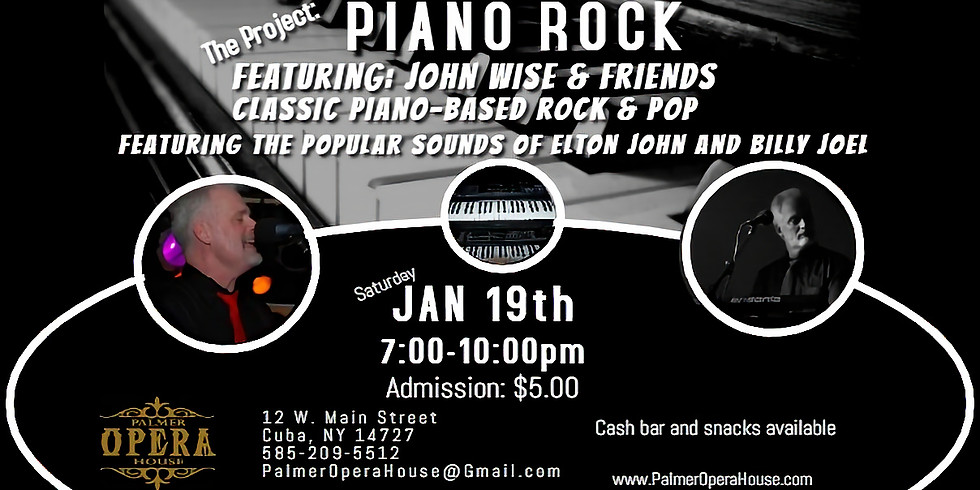 Piano Rock with John Wise and Friends