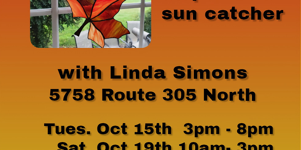 Stained Glass Class with Linda Simons
