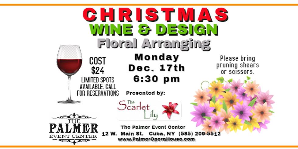 Christmas Wine & Design