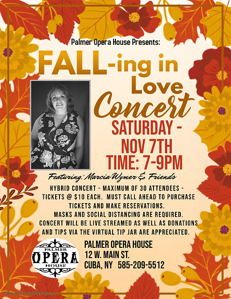 Fall concert Revised 2 - Marcia Wymer No