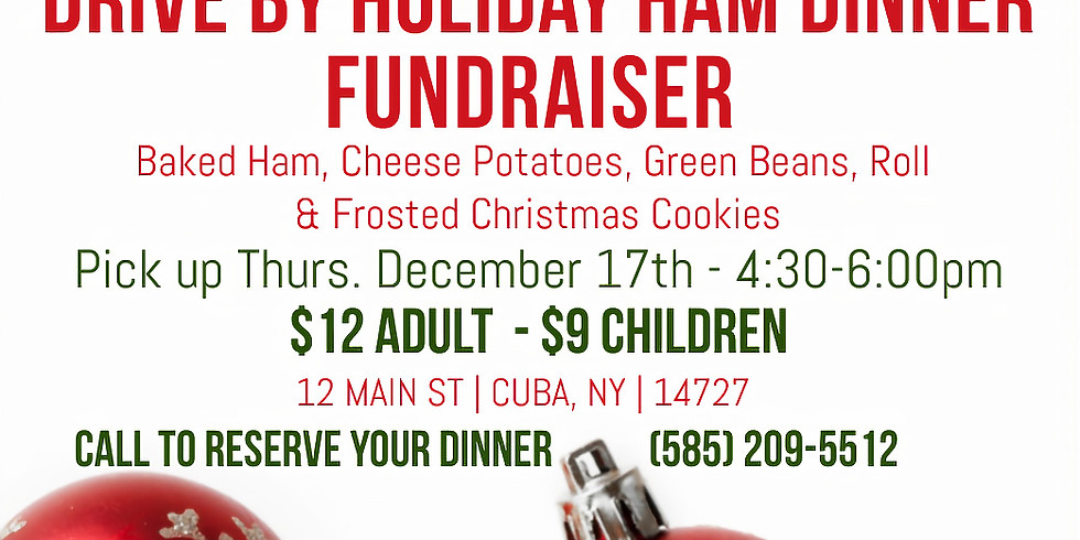 Drive By Holiday Ham Dinner