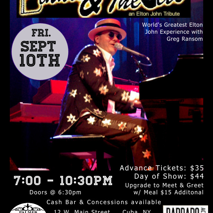 Bennie & The Jets: World's Greatest Elton John Experience