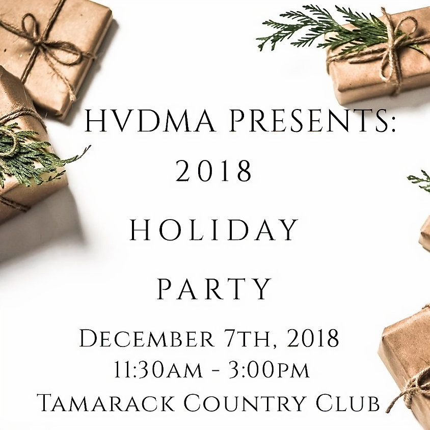 HVDMA 2018 Holiday Luncheon