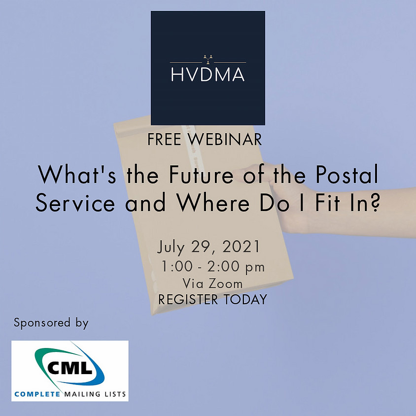 What's the Future of the Postal Service and Where Do I Fit In?