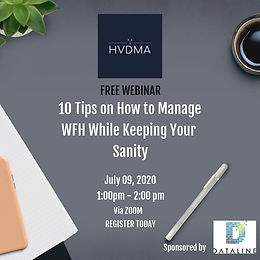 10 Tips on How to Manage WFH While Keeping Your Sanity