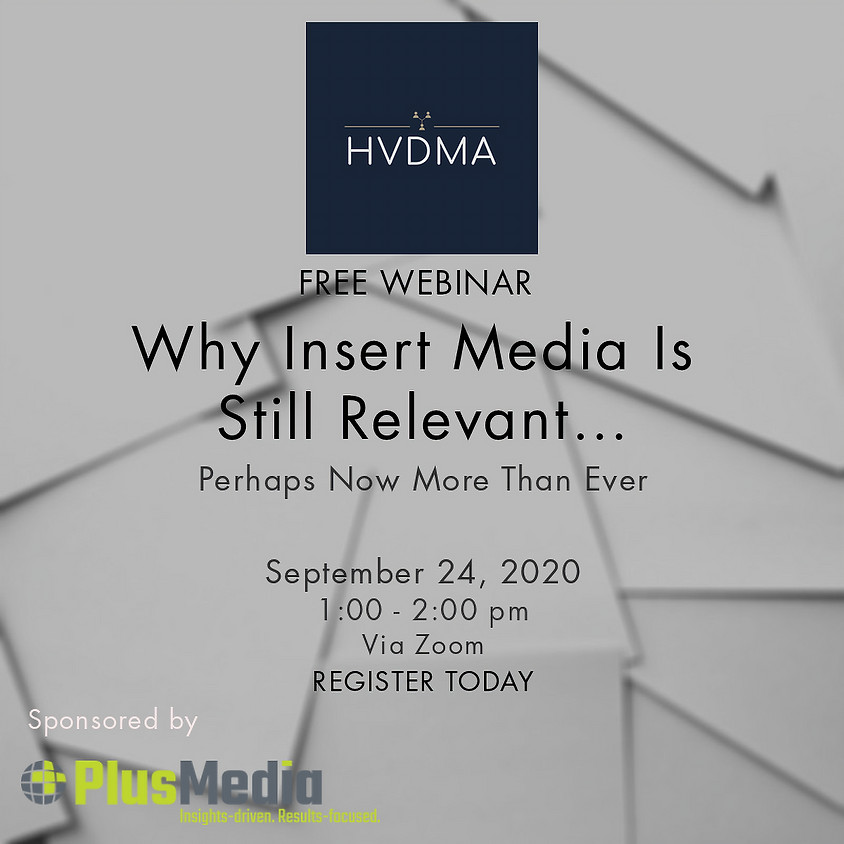 Why Insert Media Is Still Relevant…..Perhaps Now More Than Ever