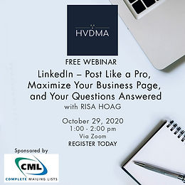 LinkedIn – Post Like a Pro, Maximize Your Business Page, and Your Questions Answered