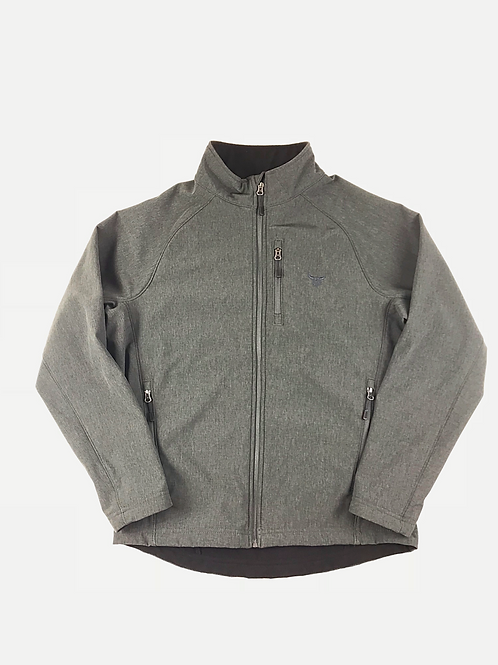 Men's Heather Charcoal Soft Shell