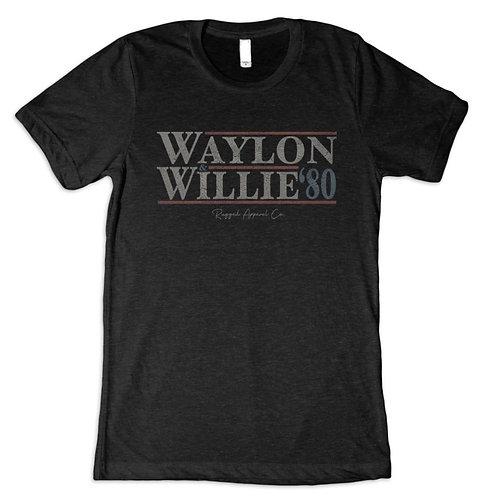 """Vintage """"Waylon & Willie"""" Vote Tee"""