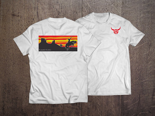 Rugged Red Sunset Tee