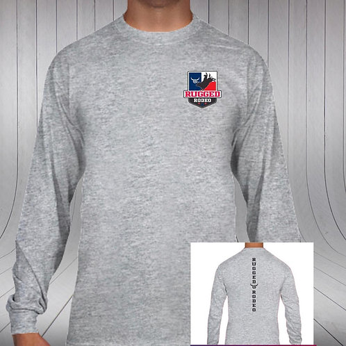 Rugged Rodeo Crest Long Sleeve