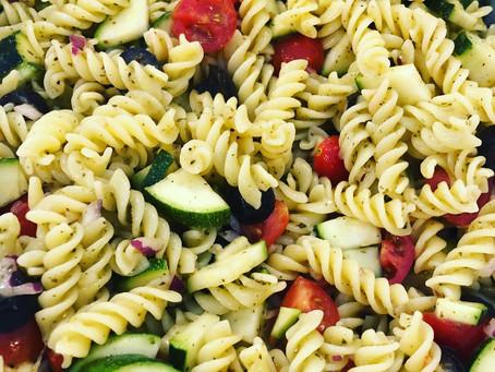Lemon Basil GF Pasta Salad
